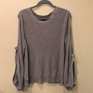 American eagle open shoulder sweater size XL